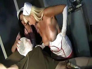 Krankenschwester Melken
