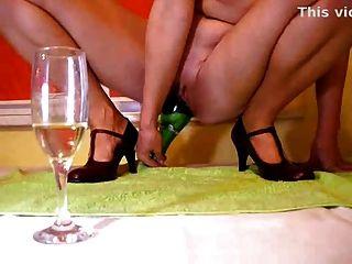 Champagner Spaß