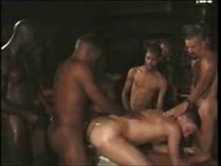 Homosexuell Gruppe weißen Sklaven
