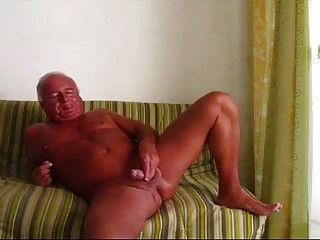 glatt sexy Dad schlägt off