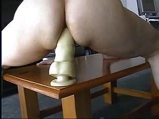 Tisch Dildo Fick