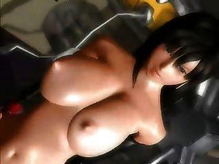 Final Fantasy VII tifa ohne ura 3d