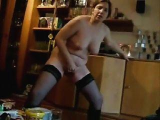 geile Frau masturbieren vor mir stand. hausgemachte
