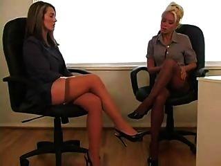 Lesben im Büro 1 von 4 d10