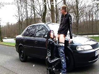 Deutsch Latex Hündin (dirty talk Outdoor-Sex)
