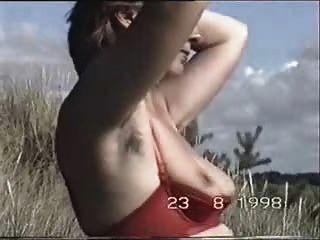 behaarte Achseln Frau marion Busch Teil2