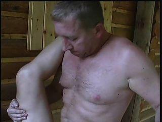 Sex in einer Kabine, ein älteres gal tun einige Lebens