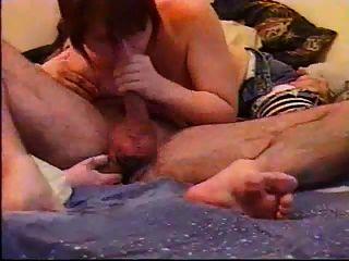 Prostata-Massage runden und schlucken