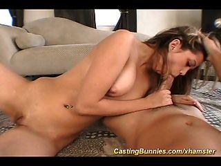 Mädchen erste Porno-Casting