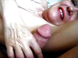 drippy Cumming auf squirtys Achseln