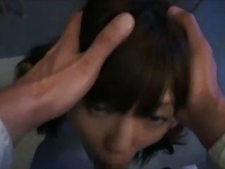 niedlichen japanischen Mädchen nach der Schule Facefuck - und große Gesichts