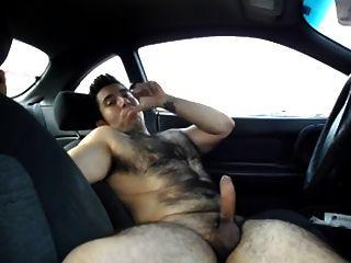 Aufbocken in einem Auto aus