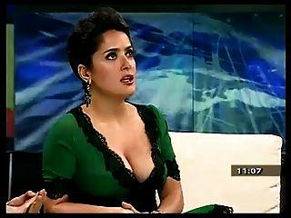 Salma Hayek und ihre schönen Titten.