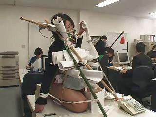 japanische Büro gedemütigt