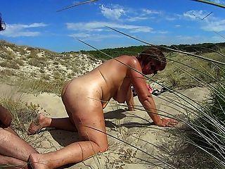Strand Fick Schlampe