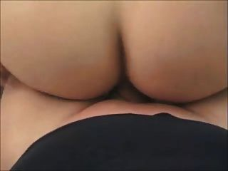 Amateur-Blase Butt bekommt auf echte hausgemachte anal