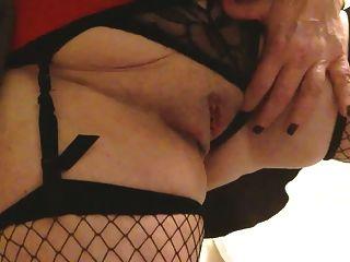 sexy Oma big tits Masterbates abspritzt und abspritzt