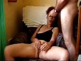 Masturbieren und bekommt cum auf