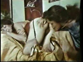 Vintage-haarige Lesbe lickers