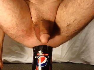 1,5-Liter-Flasche männliche anale Einfügung