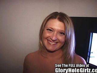 frechen tampa Krankenschwester bekommt eine Glory Hole Creampie