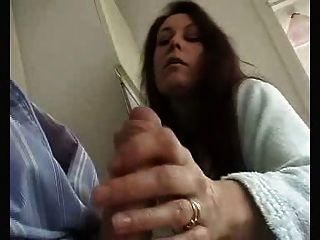 britische Frau gibt sinnlich wichsen und saugen mein Mann!