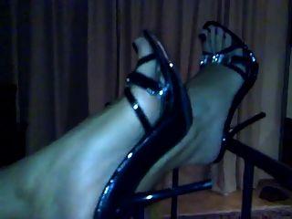 High Heels Füße Fuß - Uzun topuklu olmazsa sexy olmaz