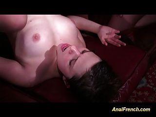 anal Französisch Babe wird tief mit vielen Schwänzen ganbanged