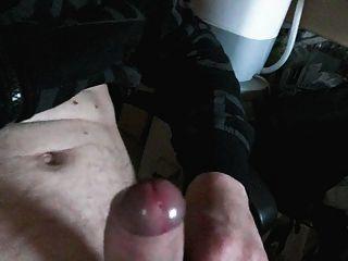 Sperma spritzt aus meiner geilen Schwanz