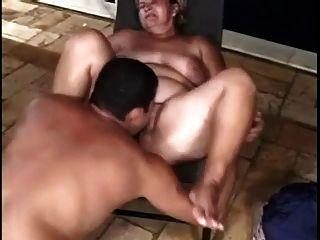 zwei mollig saugt und fickt mit verschiedenen Mann