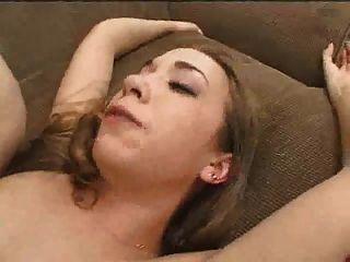 Eincremen Mädchen hart bukkake bekommt knallte