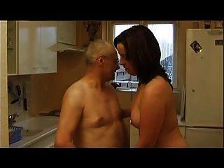 Französisch Casting 99 Brünette anal reife Mutter MILF und alter Mann