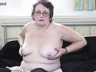 noch nobel große Großmutter liebt es, sich nass zu machen