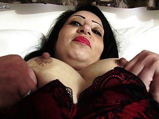 hot arab britische Mutter immer nackt und frech