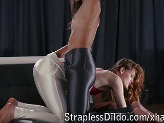 glänzenden dünnen Hosen einpacken eine Überraschung