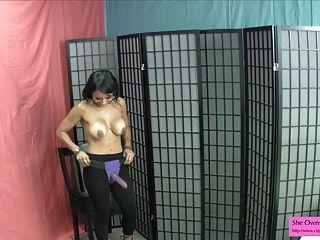 indian hotty w riesigen Titten tanzen will deinen Arsch joi Pegging