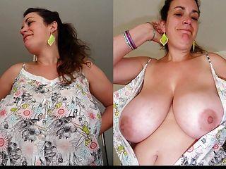 bekleidet und nackt Video - Fotos Sammlung 3