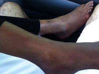 Fuß Fetisch- indian Fuß (sexy foot, Sohlen und Zehen necken)