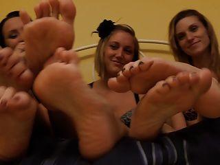 Ich will Füße - meine Füße küssen