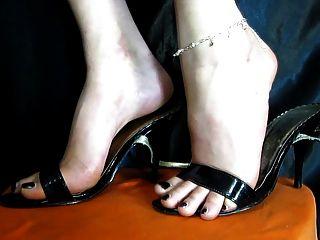 sexy Füße Schuhe