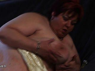 big Mama malinka wird sich matschig und geil
