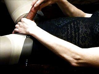 in meinem schwarzen offenen Boden Gürtel Cumming