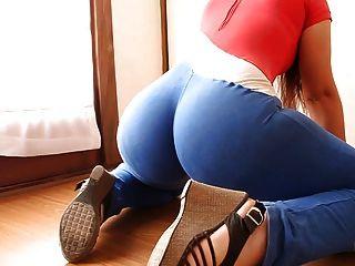 große Beute! schmale Taille! explosive Kombination! sportlich latina!