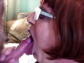 Sperma im Mund