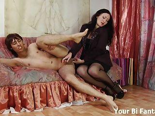 Kinky guy bekommt eine Prostata-Massage