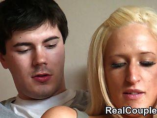 echtes Paar kimber und ihr Partner Teil 1