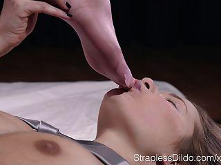 rosa Fußfetisch Traum