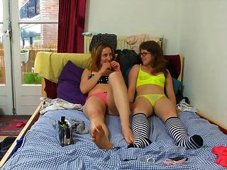 Mädchen haben Spaß