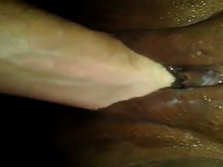 Rahmspinat gefüllt Pussy!