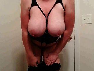 38h Titten lateshay 6-Zoll-Ferse Streifen